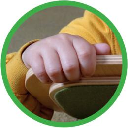 rockerboard met vingerbescherming